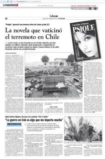 Comentario de Psique en La Nación, Año 2010